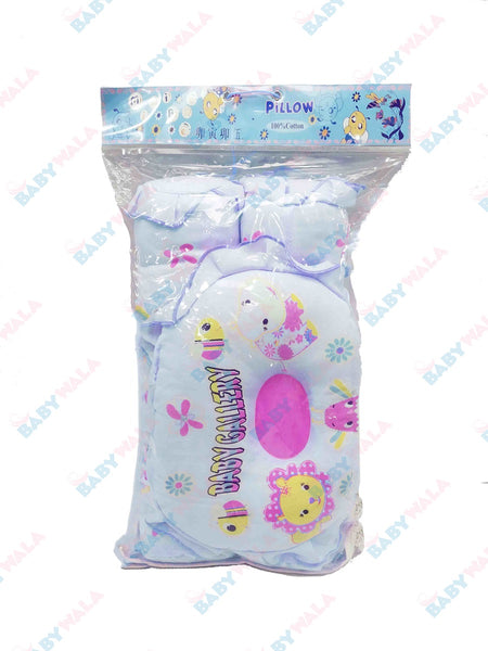 Baby Pillow Set (3 Pcs) Blue