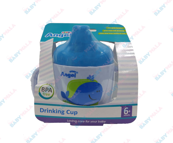 Angel Stony Training Drinking Cup 6m+ Blue