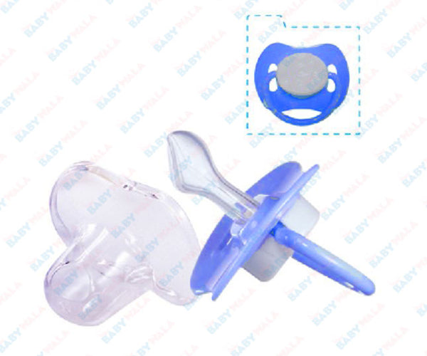 Linco Orthodontic Silicone Pacifier (new born) Blue 0m+