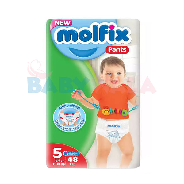 Molfix Baby Diaper Pants 5 Junior 11-18 Kg 48pcs