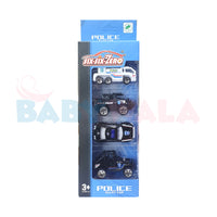 Police Alloy Cars Set