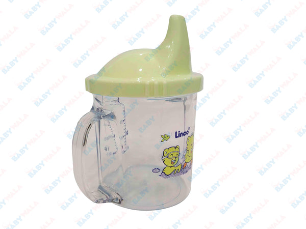 Linco Baby training Cup Step 2 240ml Yellow 6M+