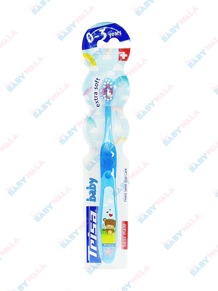 Trisha Baby Toothbrush 0-3years Blue