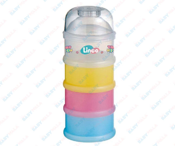 Linco 4 Stages Milk Powder Container
