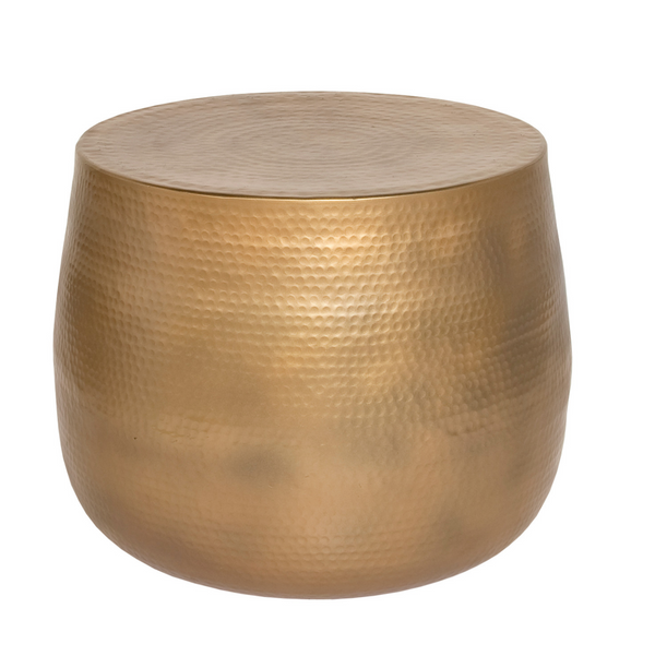 Nordic Accent Table – Gold