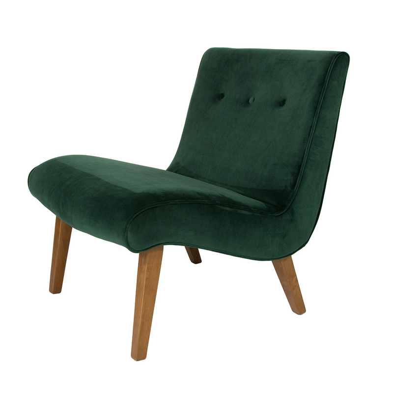 Fifi Occasional Chair – Deep Green