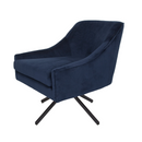 Ethan Swivel Chair – Ink Blue