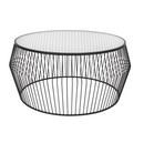 Cyclone Wire Coffee Table – Black