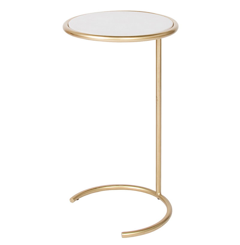 Noble Accent Table – Gold