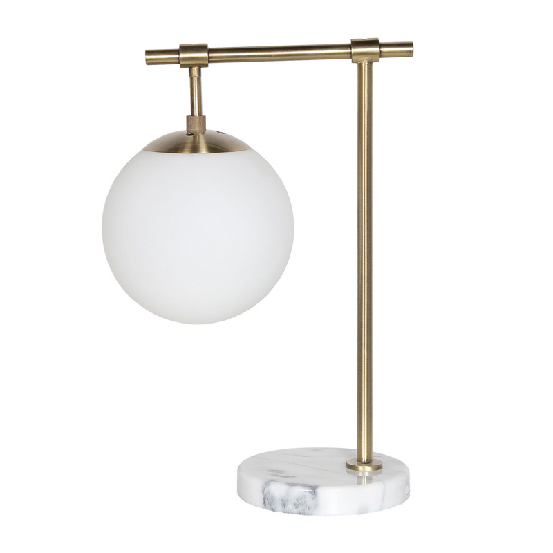 Lana Frost Globe Table Lamp