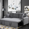 Zara Reversible Sectional Sofa Bed (With Storage)