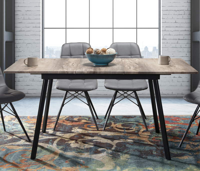 Ajax extendable dining table