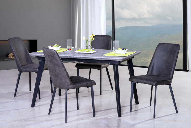 Arabica extendable dining set