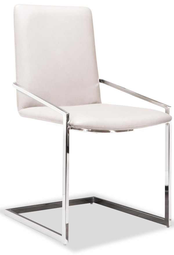 Jasmine Chair White/Grey/Black