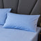 100% Cotton Sheet Set in Twin/Full/Queen (Blue)