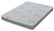 Tom Boy 8'' Blue Gel Memory Foam Mattress (Two Sides)