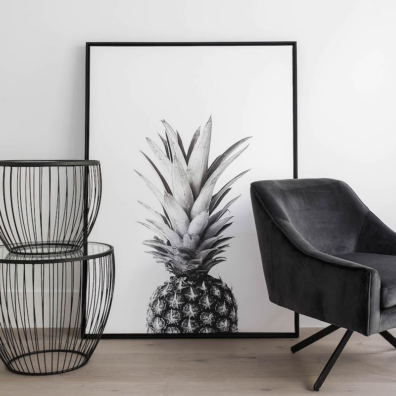 Canvas Wall Decor – Pineapple
