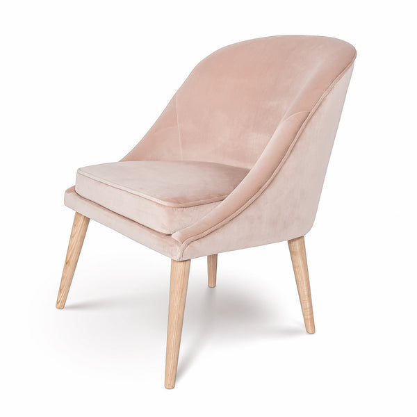 Bree Chair – Pale Coral
