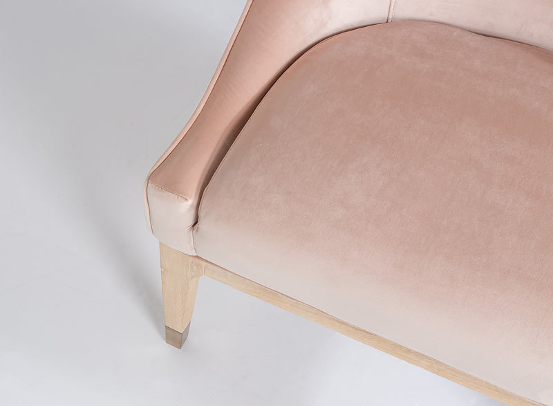 Emilia Chair – Pale Coral