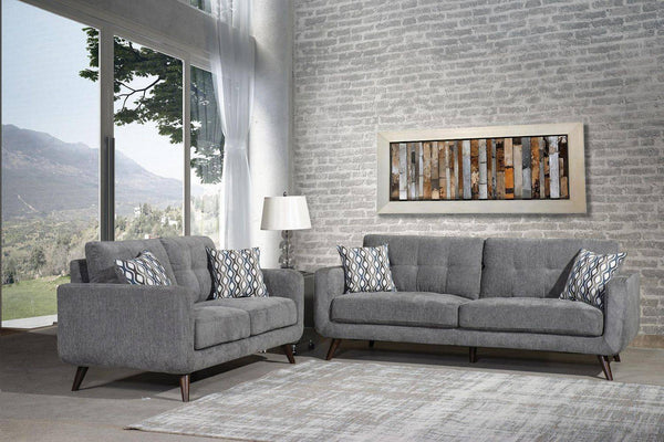 Grey Sofa/Loveseat