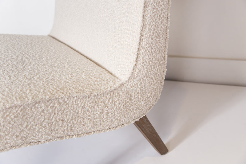 Fifi Occasional Chair – Cream Boucle