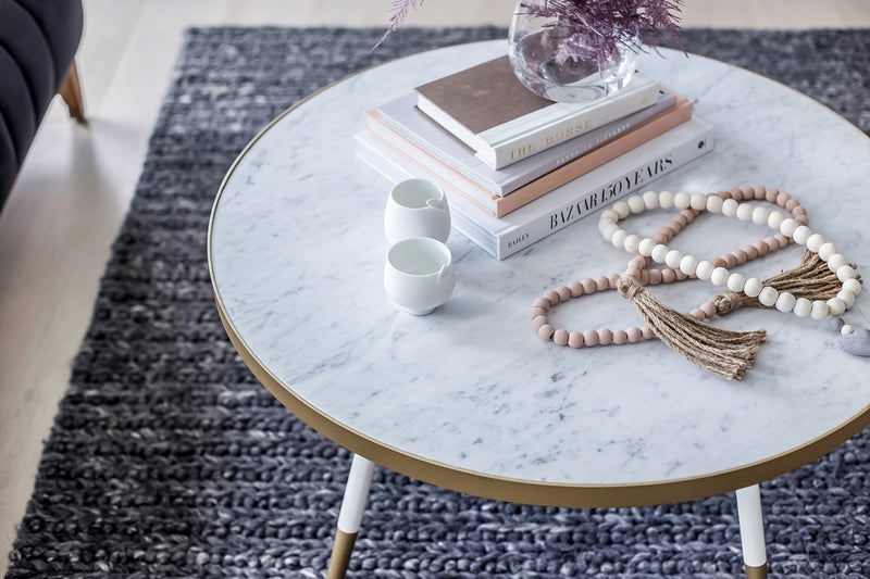Florence Coffee Table – White Marble