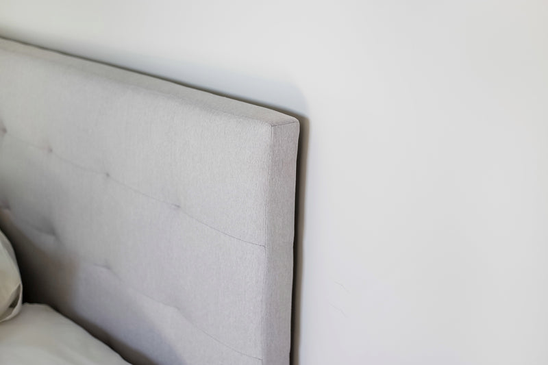 June Queen Headboard – Horizon Grey