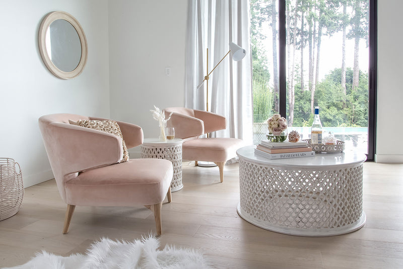 Eve Chair – Pale Coral