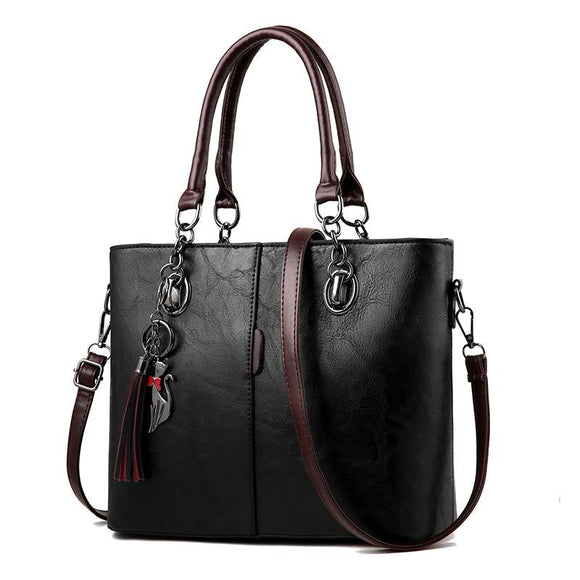 Vintage Casual Tote Fashion Leather Bag
