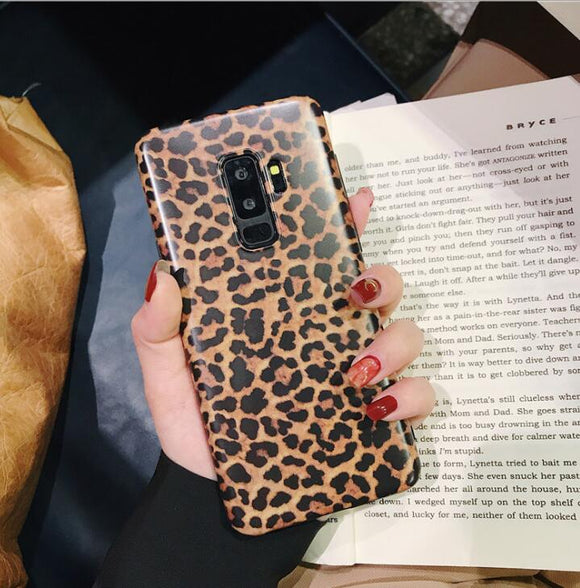 Fashion Leopard Print Phone Case For Samsung Galaxy