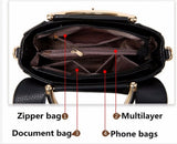 Flap V Women's Luxury Leather Clutch Bag, Messenger Bags