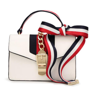Three styles with ribbon Crossbody Bag, Messenger Bag