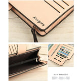 Baellerry Brand Wallet Women Top Quality Leather Wallet Multifunction Purse