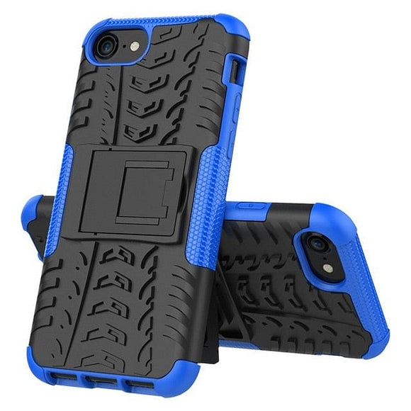 Silicone Unbreakable Hybrid Armor PC Phone Case For iPhone