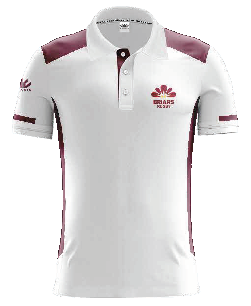 Briars Rugby Mens and Kids White Polo
