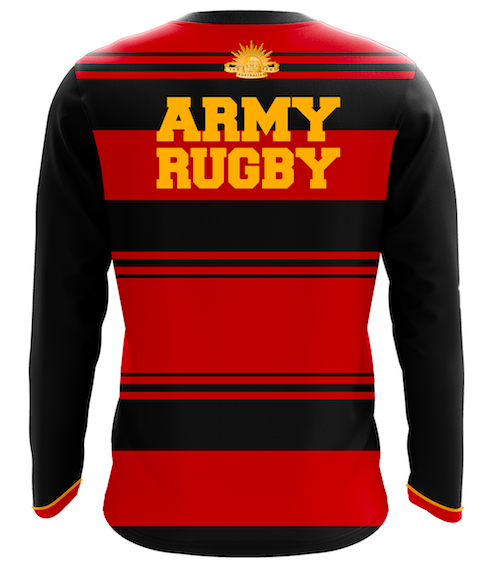 Army Rugby Union Centenary Long Sleeve Casual T