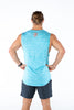 Rogue Gentlemens Club Adventure Gym Muscle Top Blue