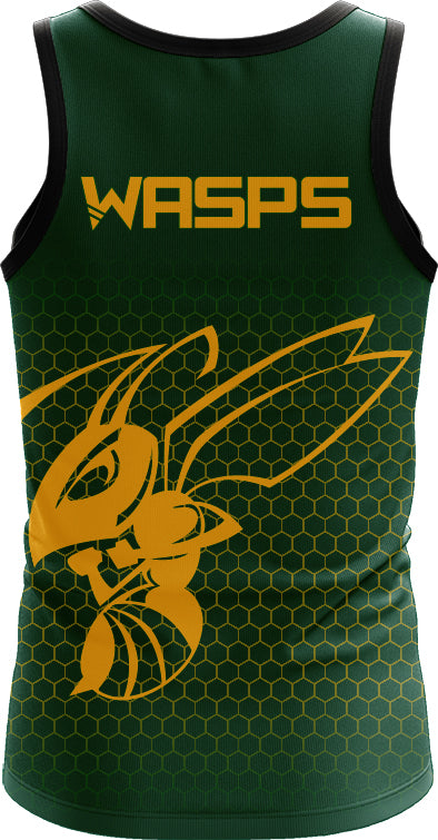 Woodville Wasps Womens Training Singlet