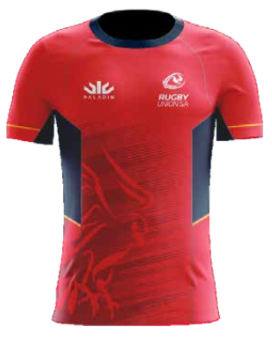SA Rugby Players Training Top - UNDER 14