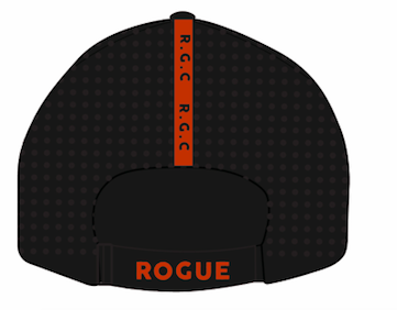 Rogue Gentlemens Club React Hat Black and Burnt Orange