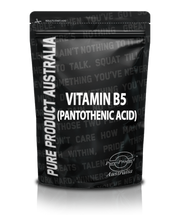 PANTOTHENIC ACID (VITAMIN B5)