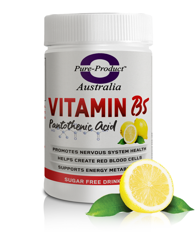 Vitamin B5 Lemon (Pantothenic Acid)