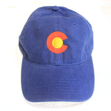 Colorado State Flag Low Profile Baseball Hat | Coloradan Golf Cap