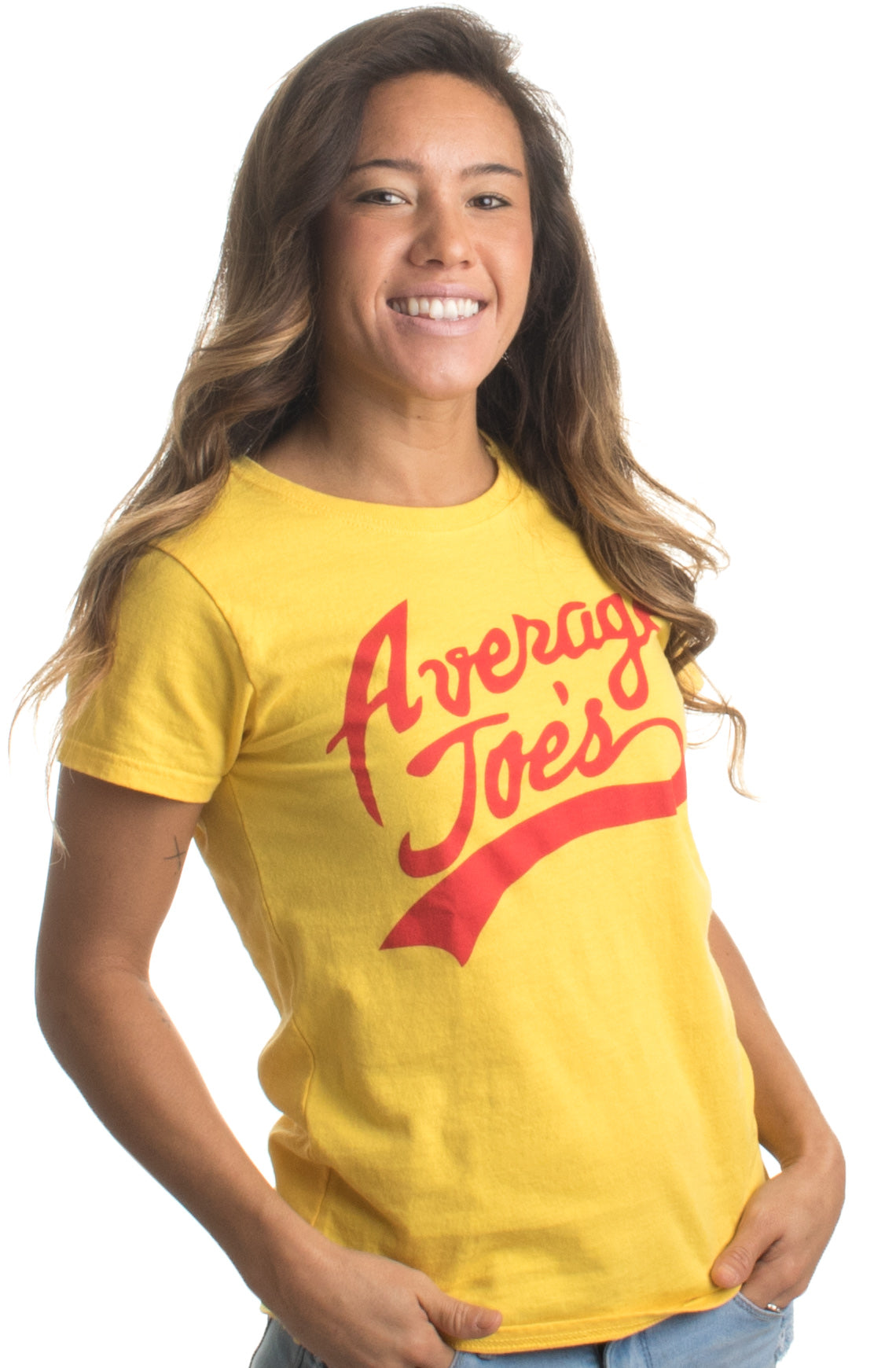 Average Joes | Funny Dodgeball Team Sports Jersey Ladies' T
