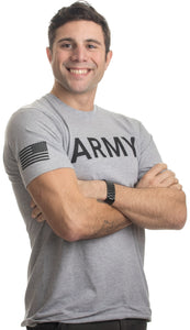 ARMY PT Style Shirt | U.S. Military Physical Traning Infantry Workout T-shirt
