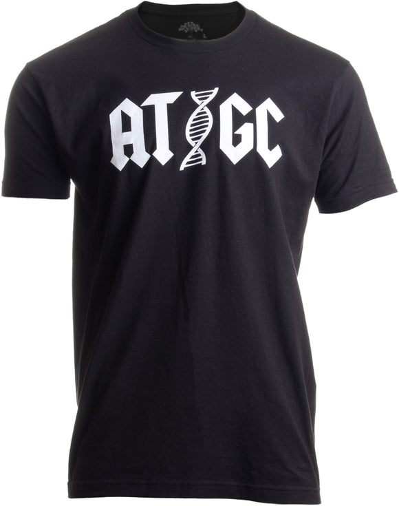 ATGC | Funny Chemistry Chemist Biology Science Teacher for Men Women DNA T-shirt