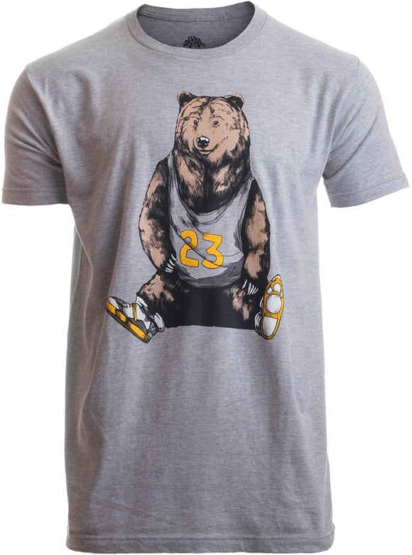 Baller Bear | Funny Basketball Grizzly Sneaker Sneakerhead for Men Women T-shirt