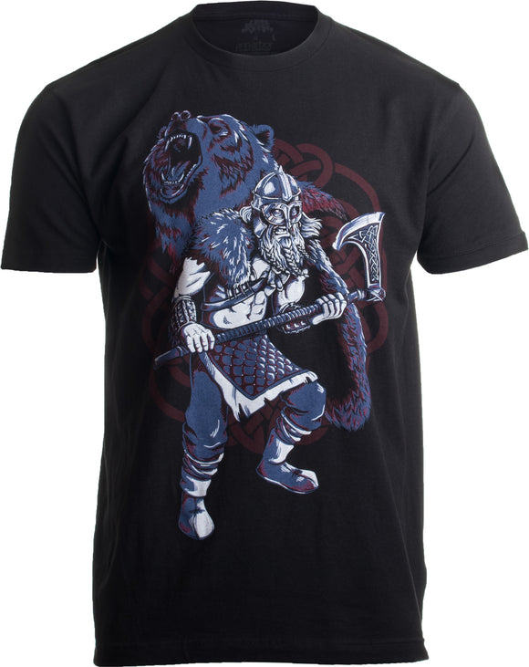 Viking Berserker, Bear Spirit | Valhalla Norse Nordic Mythology Warrior T-shirt