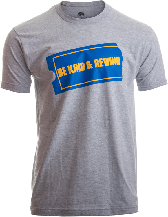 Be Kind & Rewind | Funny Retro 90s Party Nostalgia 1990s Pop Culture VHS T-shirt