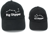 Big Dipper & Lil Dipper | Matching Daddy Father Dad & Son Daughter Baseball Hats